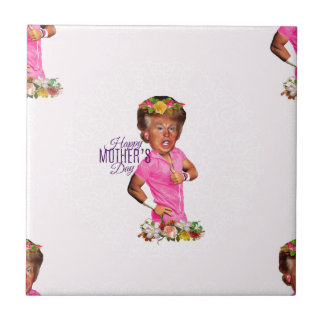 happy mothers day trump tile