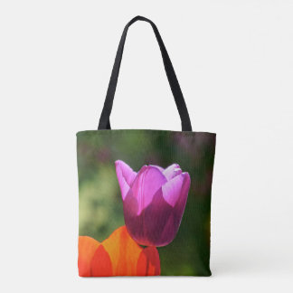 Happy Mothers Day! Tulip in bright light Tote Bag