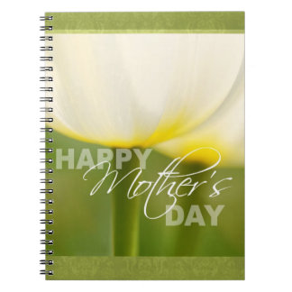Happy Mother's Day Tulips Notebook