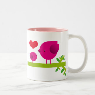 Happy Mother's Day! Two-Tone Coffee Mug