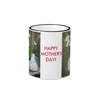 HAPPY MOTHER'S DAY! Unique Flower Coffee Mug