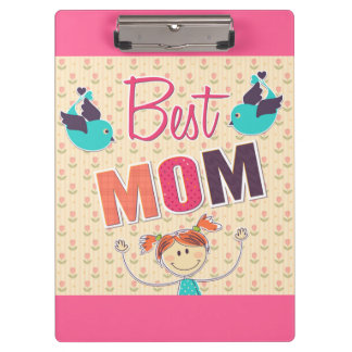 Happy Mother's Day vector doodle Clipboard