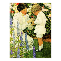 Happy Mother's Day Vintage Art Postcards