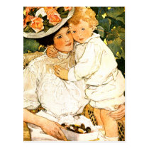 Happy Mother's Day. Vintage Art Postcards