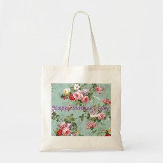 Happy Mother's Day - Vintage Floral Tote Bag