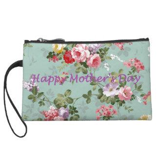 Happy Mother's Day - Vintage Floral Wristlet Wallet