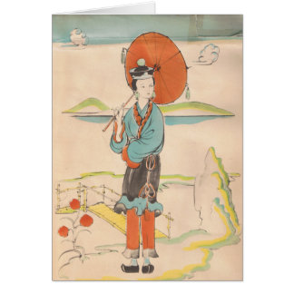 Happy Mother's Day/Vintage Geisha Cards