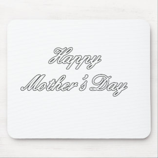 Happy Mother's Day White The MUSEUM Zazzle Gifts c Mouse Pad