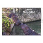 Happy Mothers Day with Hippos Card