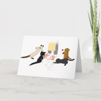 Happy Mother's Day with Kitty Greeting Card