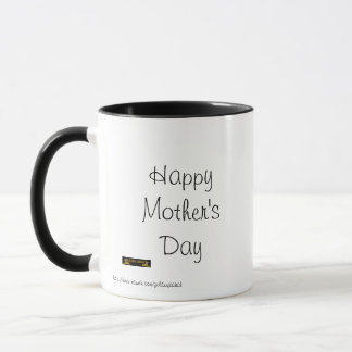 Happy Mother's Day with terrific looking Mom Mug
