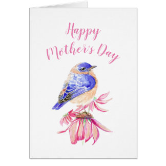 Happy Mother's Day Woman I admire Bluebird Art