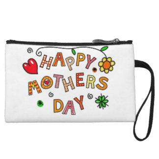 Happy Mothers Day Wristlet