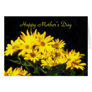Happy Mother's Day Yellow Daisies Card
