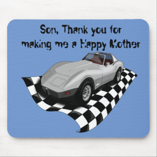 Happy Mother's/Father's Day. Customizable Mouse Pad