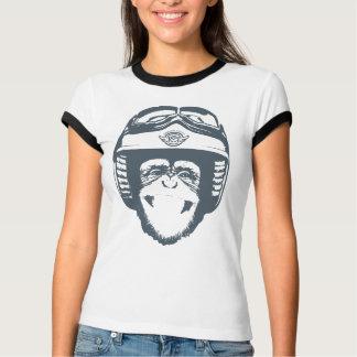 Happy Moto Monkey (slate) T-Shirt