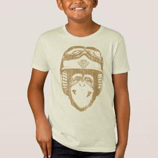 Happy Moto Monkey (vintage gold) T-Shirt