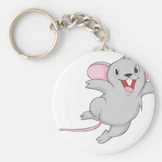 Happy Mouse Keychain