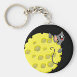 Happy Mouse- keychain