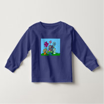 Happy Mouse Toddler's Long-Sleeve T-Shirt