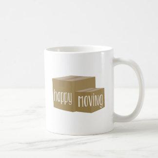 Happy Moving Classic White Coffee Mug