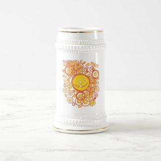 Happy_Music Beer Stein
