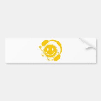 Happy_Music Bumper Sticker