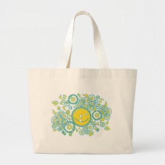 Happy_Music Large Tote Bag