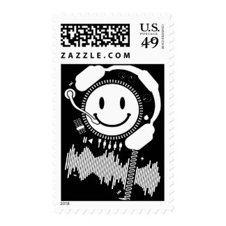 Happy_Music Postage Stamp