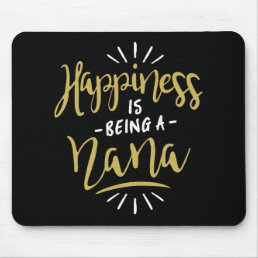 Happy Nana Mouse Pad