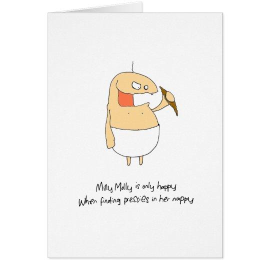 Happy nappy card