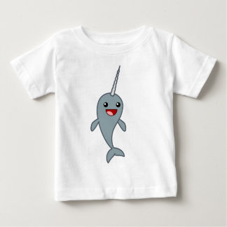 Happy Narwhal Baby T-Shirt