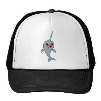 Happy Narwhal Trucker Hat