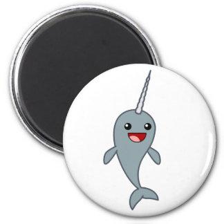 Happy Narwhal Fridge Magnet