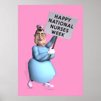 Happy National Nurses Week! Poster