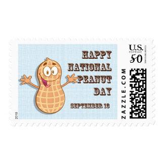 Happy National Peanut Day September 13 Postage