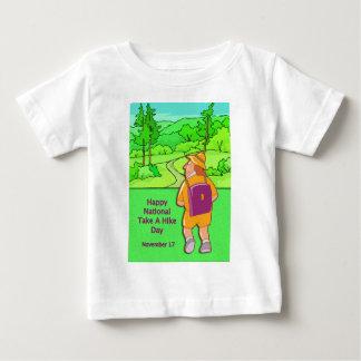 Happy National Take A Hike Day November 17 Baby T-Shirt