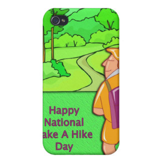 Happy National Take A Hike Day November 17 iPhone 4/4S Case