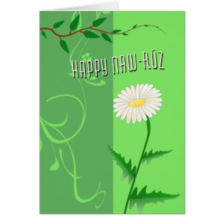 Happy Naw-Ruz Greeting Card