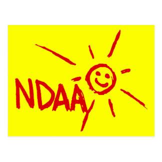 Happy NDAA Postcard