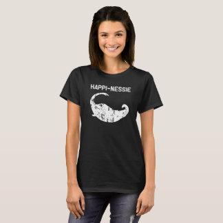 Happy Nessie Lochness Monster Funny Shirt