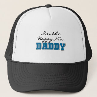Happy New Daddy Tshirts and Gifts Trucker Hat