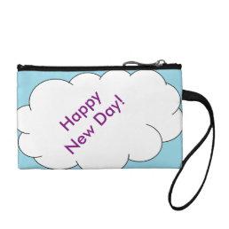 Happy New Day Clutch