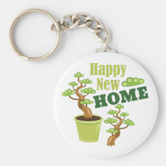 Happy New Home Keychain