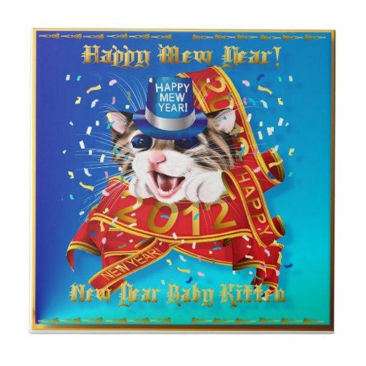 Happy New (Mew) Year-2012 Tile