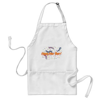 HAPPY NEW YEAR3 ADULT APRON