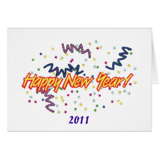 HAPPY NEW YEAR3 GREETING CARD