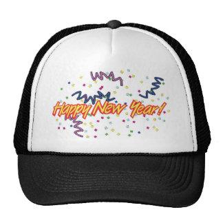 HAPPY NEW YEAR3 TRUCKER HAT