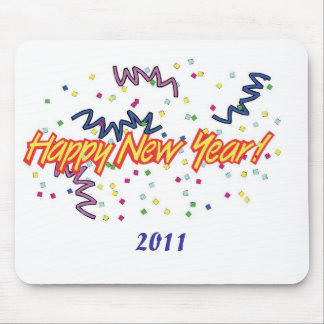 HAPPY NEW YEAR3 MOUSE PAD