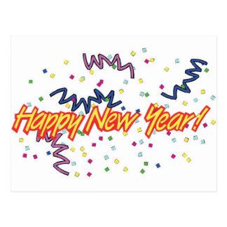 HAPPY NEW YEAR3 POSTCARD